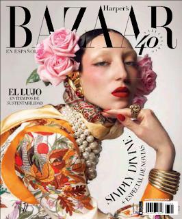 Portada Harpers Bazaar Mexico Abril 2020