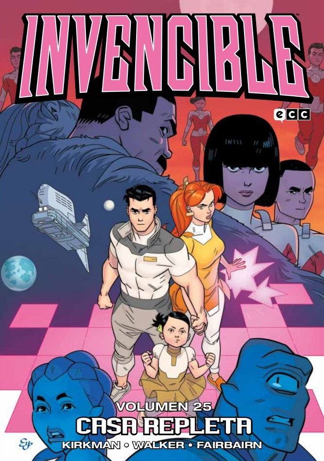 Reseña: Invencible #25 de Robert Kirkman y Cory Walker   Editado por ECC Ediciones