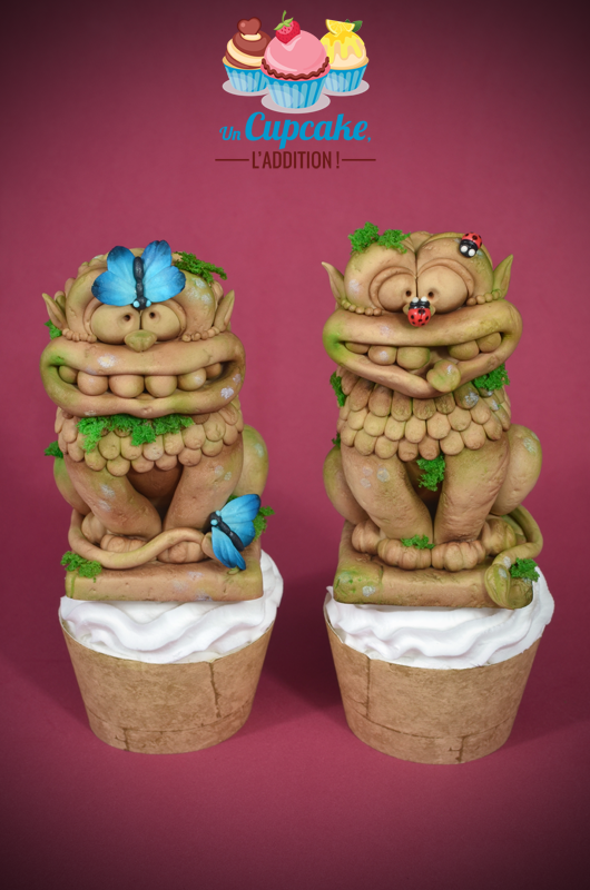 Cupcakes « Les Lions de Yapahuwa »