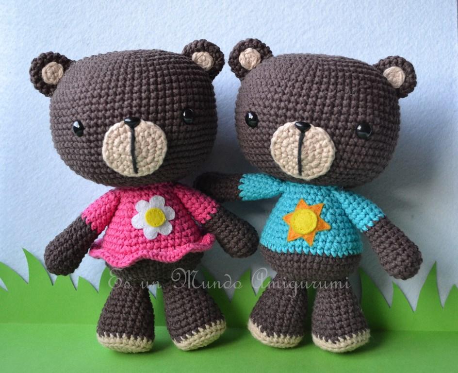 Lujoso Oso Patrones De Crochet Libre Motivo - Ideas de Patrones de ...