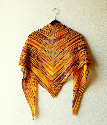 My first Wollmeise shawl