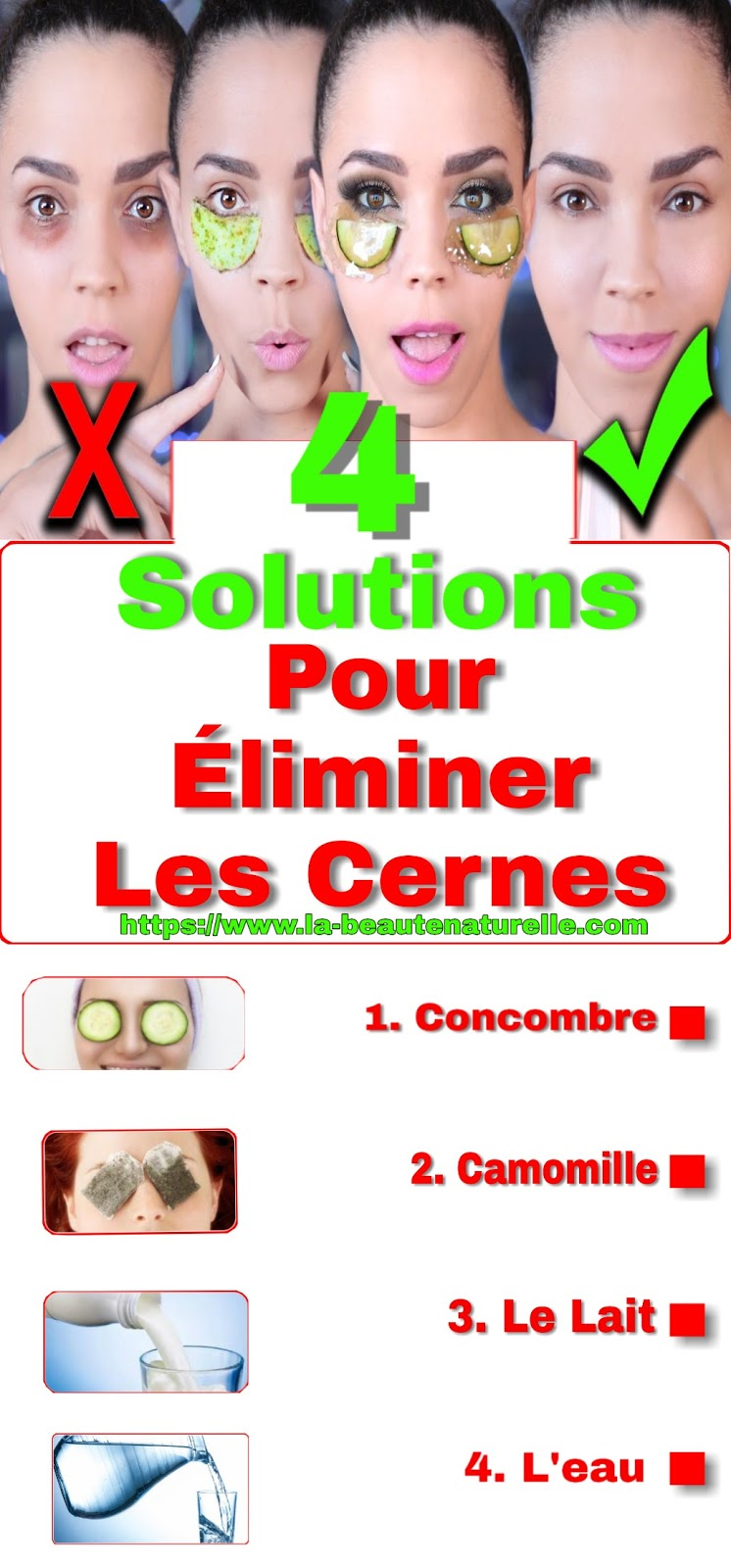 4 Solutions Naturelles Pour Éliminer Les Cernes