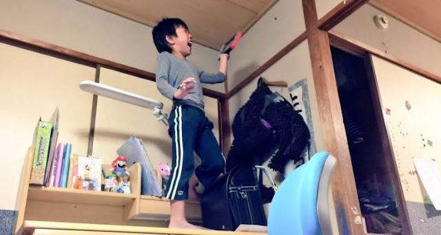 Sorprendió a su hijo de la mejor forma con Nintendo Switch