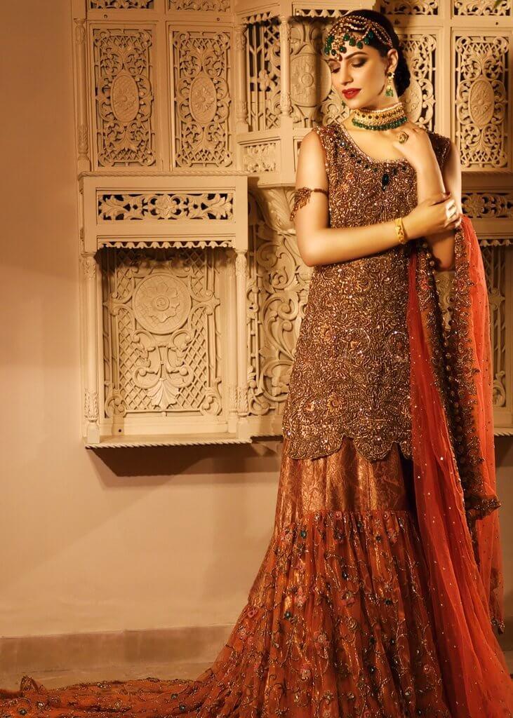 Bridal Gharara for Mehendi