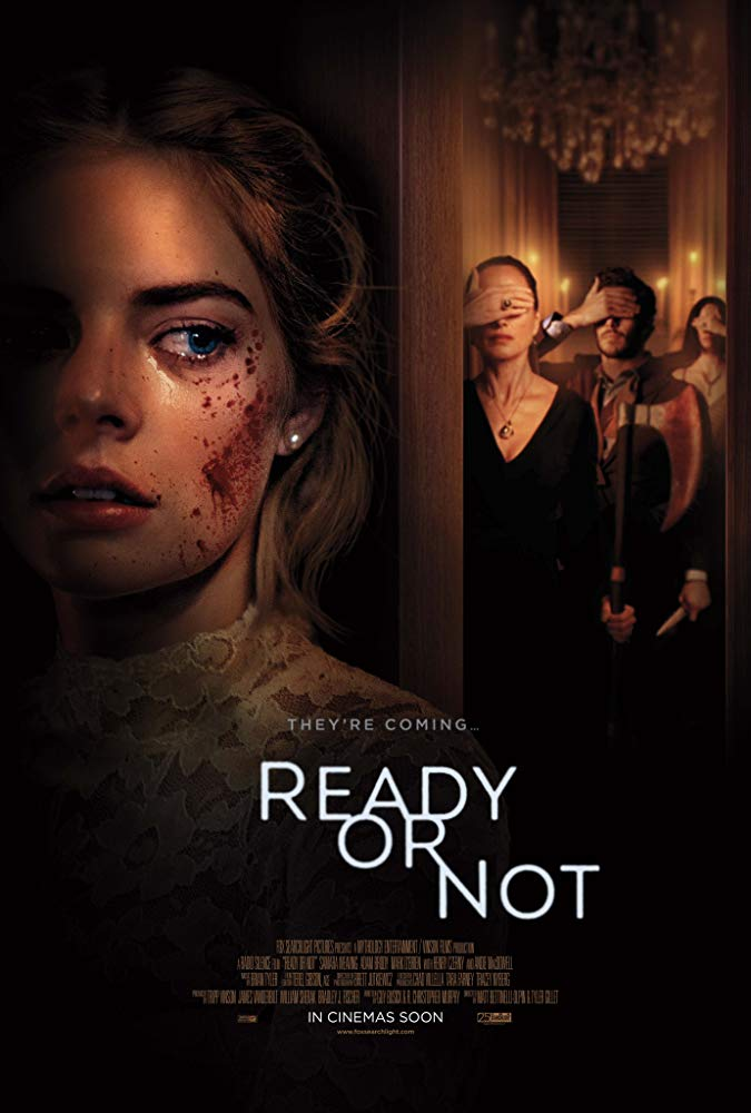 Movie Review by Rawlins, Ready or Not, Thriller, Horror, Mystery, Adam Brody, Samara Weaving, Rawlins GLAM