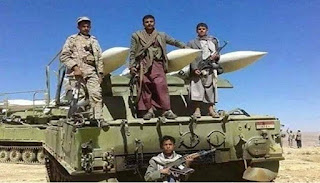 Teroris Syiah Al-Houthi tembakan rudal ke Bandara Saudi