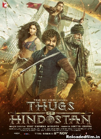Thugs of Hindostan (2018) Full Movie Download 480p 720p 1080p