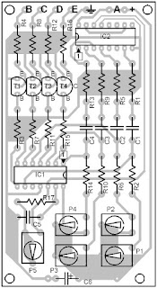 Parts-Placement-Layout-Running-Light-Circuit