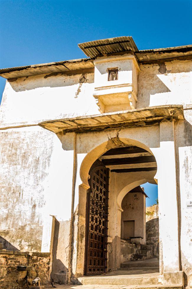 First gate at Kumbhalgarh Palace