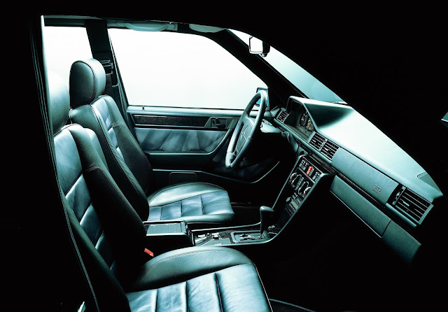 1994 - Mercedes-Benz 500 E, the interiors.