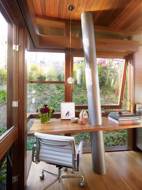 Маленький уютный дом на дереве, интерьер