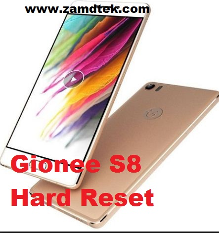 Gionee S8 hard reset. Pattern removal and frp bypass