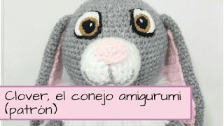 clover conejo de sofía amigurumi patron tit
