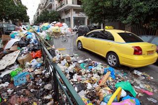 """""""Μην κατεβάζετε αφειδώς σκουπίδια"""" λόγω των τετραημέρων κινητοποιήσεων εργαζόμενων"""