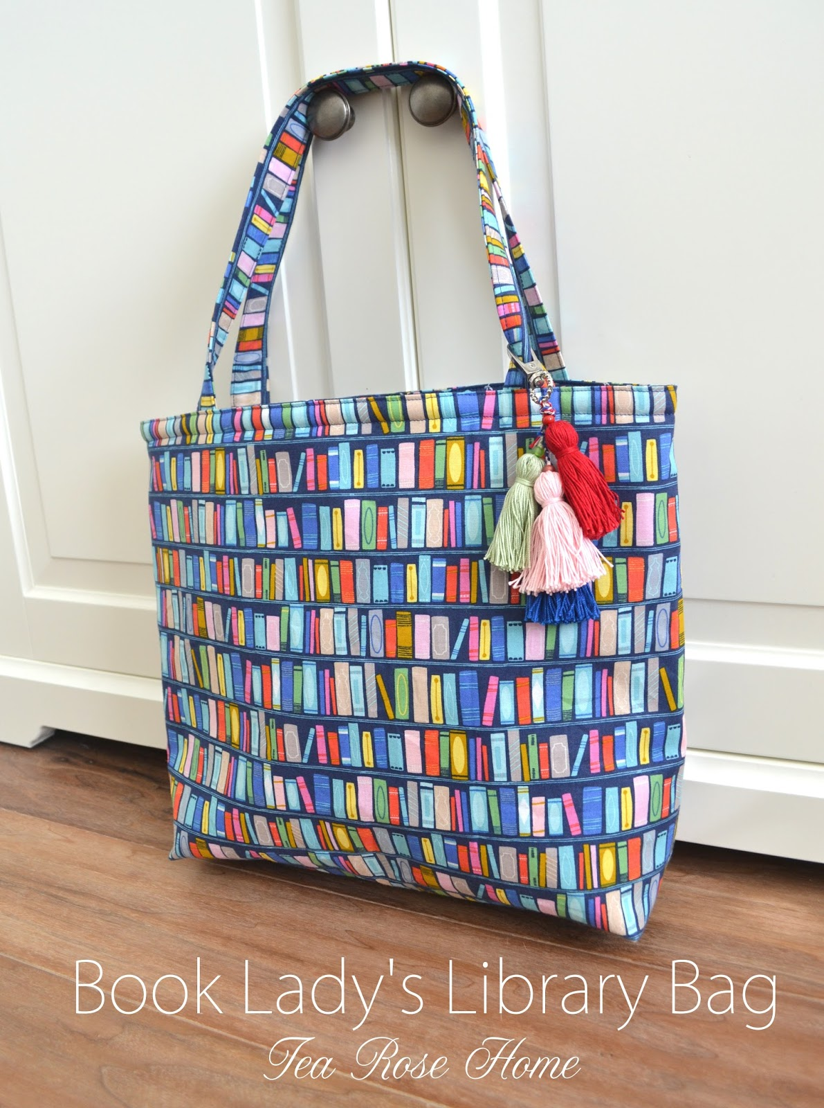 Tutorial Book Lady S Library Bag