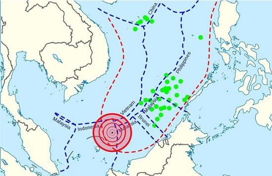 Koordinat kapal nelayan China ditangkap Indonesia