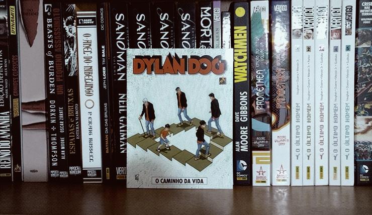 Resenha da HQ Dylan Dog O caminho da vida