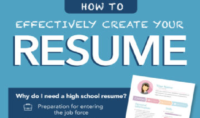 How to Build a Well-Rounded Resume as an Online Student #infographic