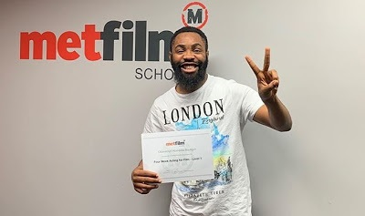 Comedian Woli Arole Graduates From MetFilm School In UK (Photo)