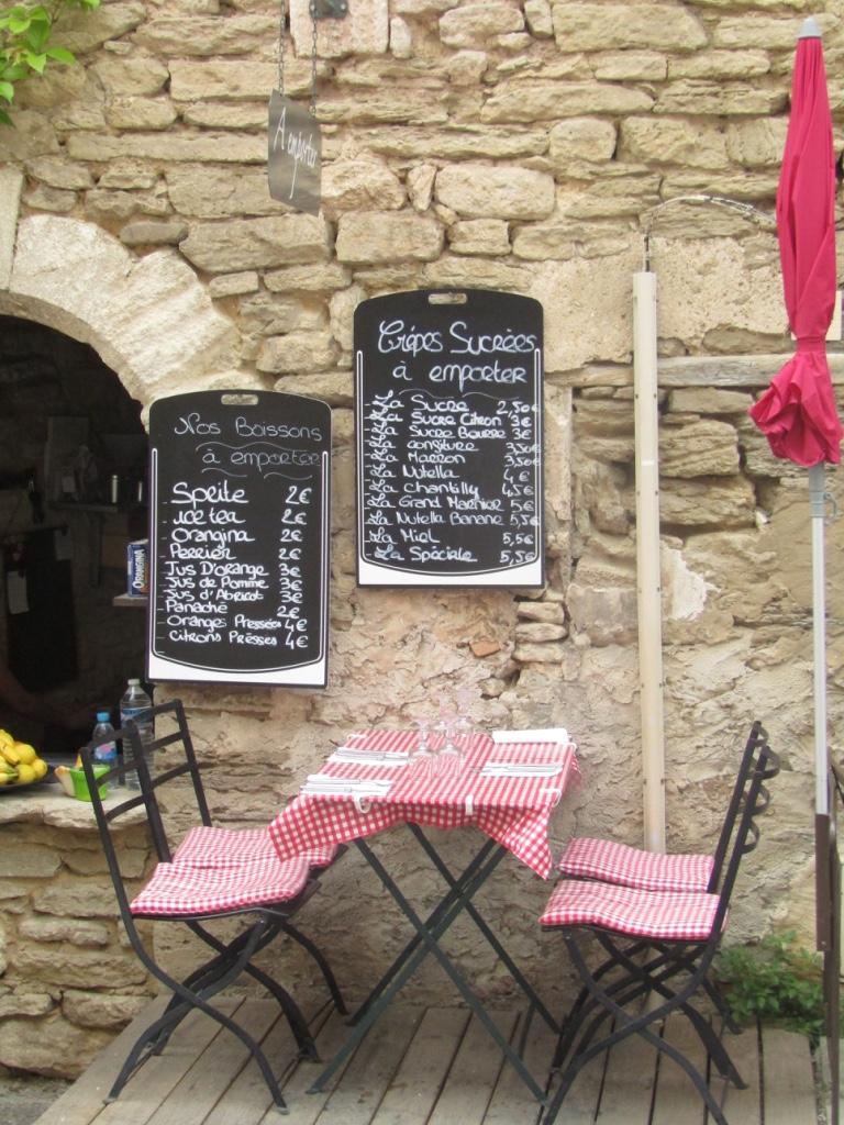 Community S Cafe In Gordes