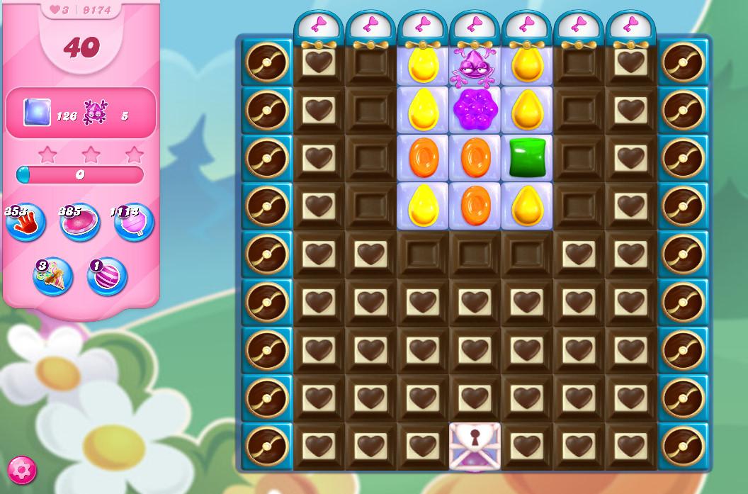 Candy Crush Saga level 9174