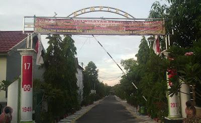 Semangat Kampung Indonesia Banjarbaru Kalimantan Selatan