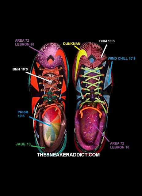 THE SNEAKER ADDICT: Breaking Down The 2013 Nike Lebron 10 ... Lebron 10 What The Mvp