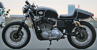 sportster cafe racer storz kit