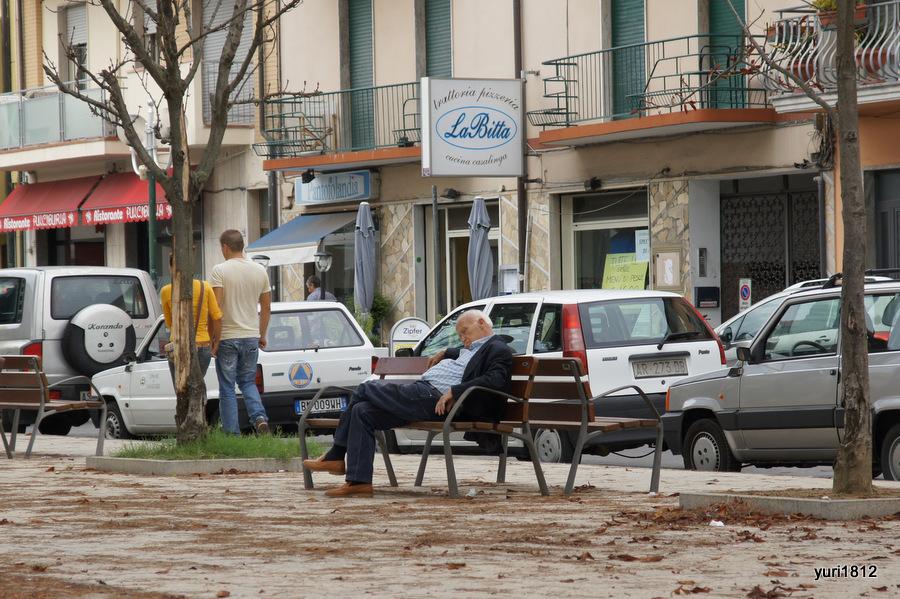 Сиеста. Виареджо, Италия