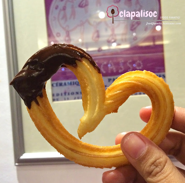 Dulcinea PH Churros con Chocolate