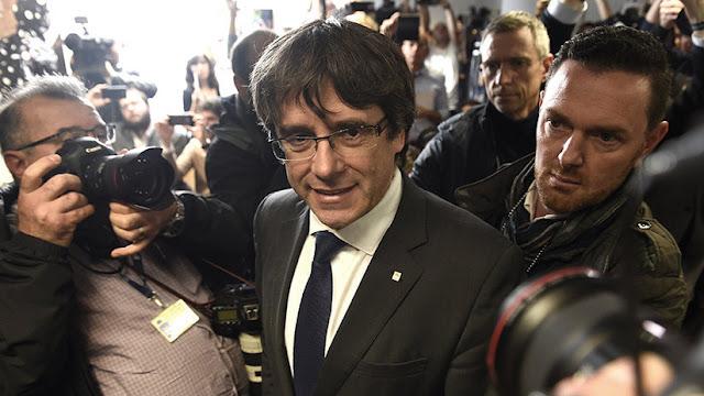 """Puigdemont por TV3: """"Como presidente legítimo, exijo la liberación de los consejeros"""""""