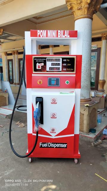 Harga Pom Mini Digital 1 Nozzle Isi 210 Liter