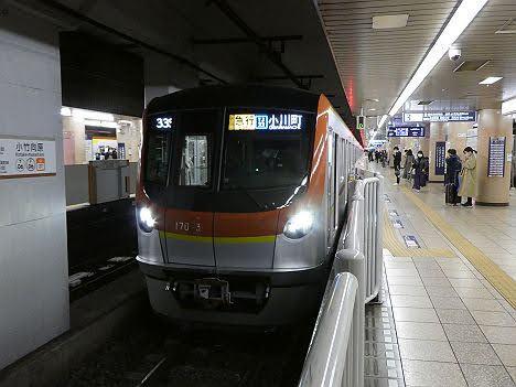 【ダイヤ改正で新登場!】メトロ17000系の急行 小川町行き