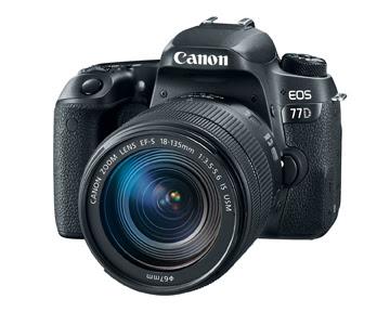 كانون تكشف رسمياً عن كاميرتي Canon 77D و Canon Rebel T7i