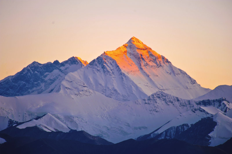 At mount Everest base camp, you also can see stunning of Mount Everest.
