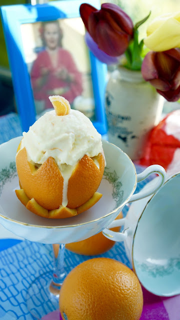 Fanny Cradock Orange Ice Cream