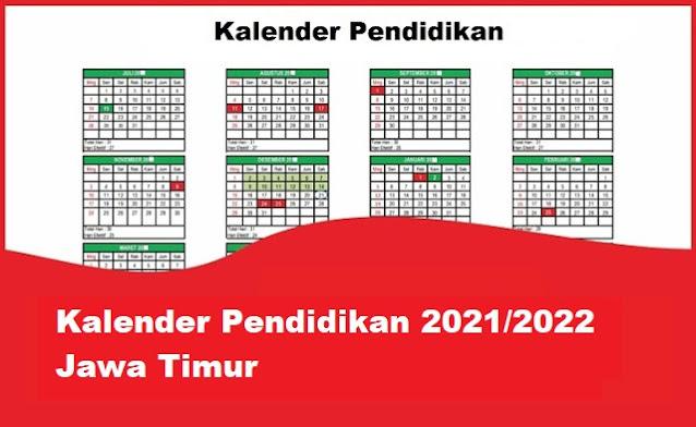 kalender pendidikan jawa timur 2021