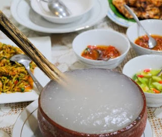 Papeda makanan khas maluku