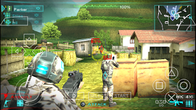 تحميل لعبة Tom Clancys Ghost Recon Predator لأجهزة psp ومحاكي ppsspp