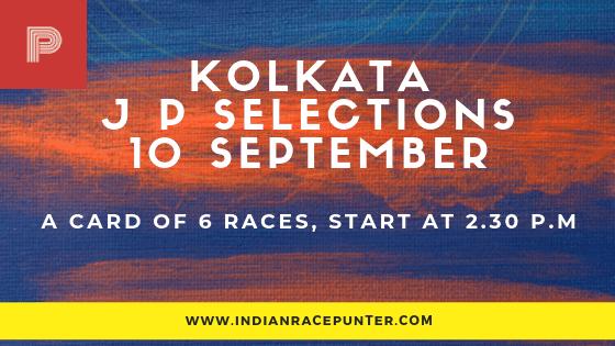 Kolkata Jackpot Selections 10 September