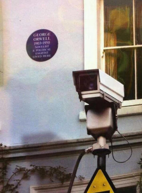 George Orwell lived here...