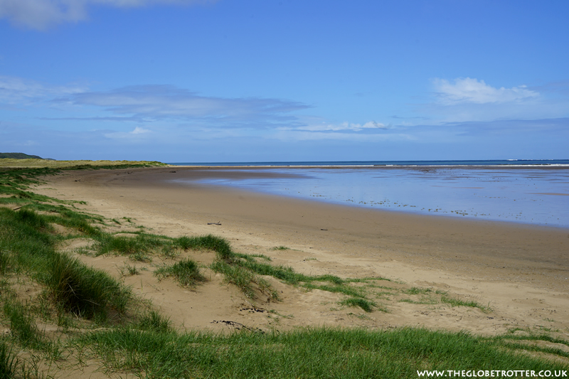 Whiteford Sands in North Wales