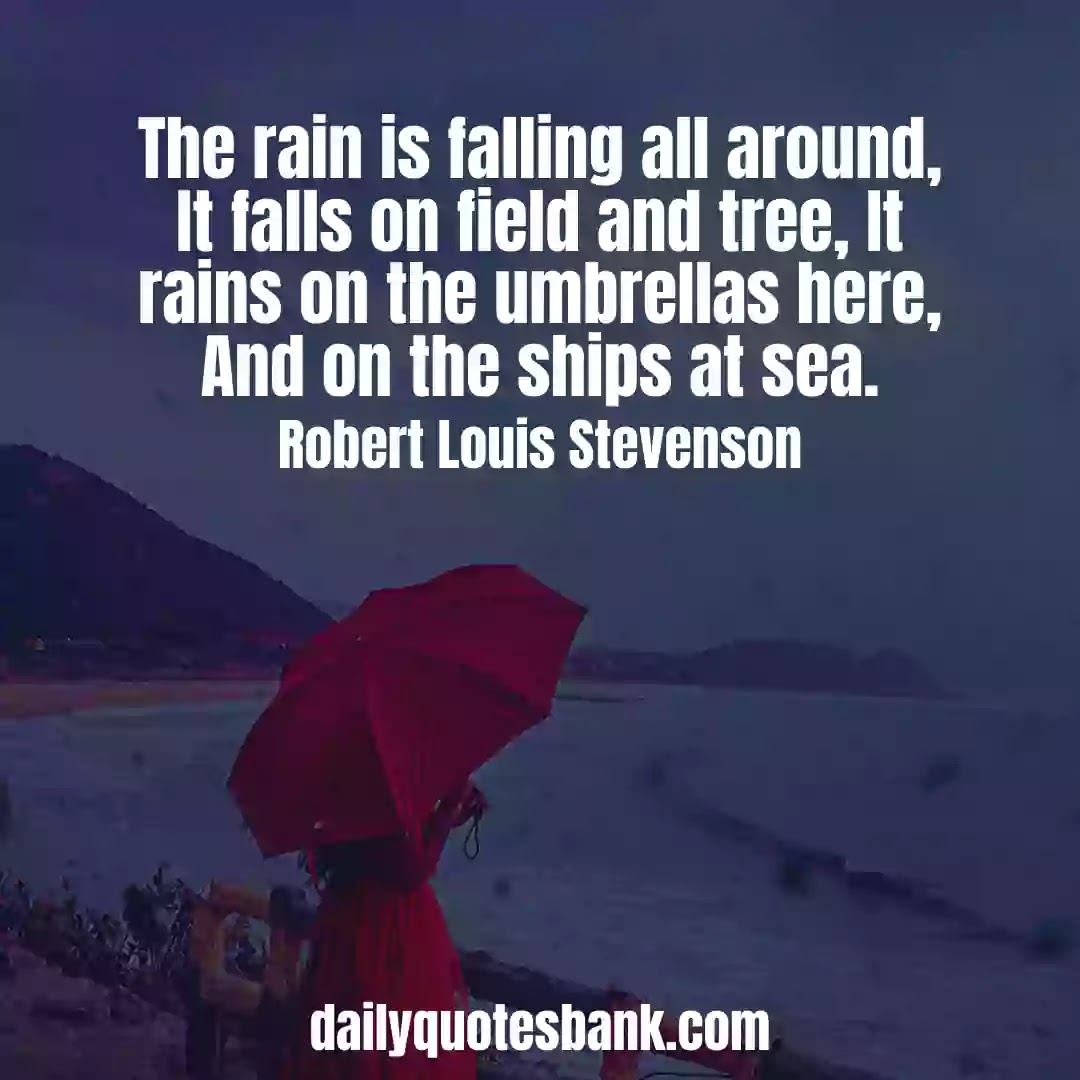 Rain Quotes Thought That Will Make You Feel Happy