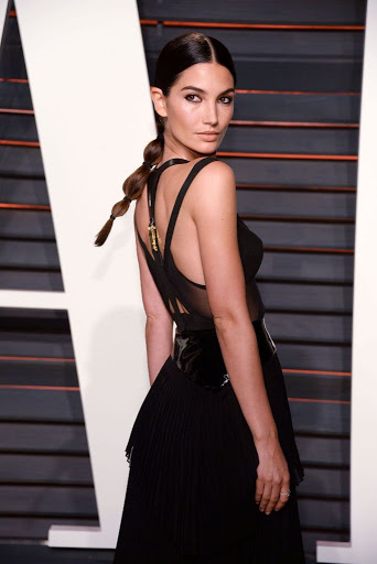 Lily Aldridge Best Red Carpet Dresses 2016 Vanity Fair Oscar Party