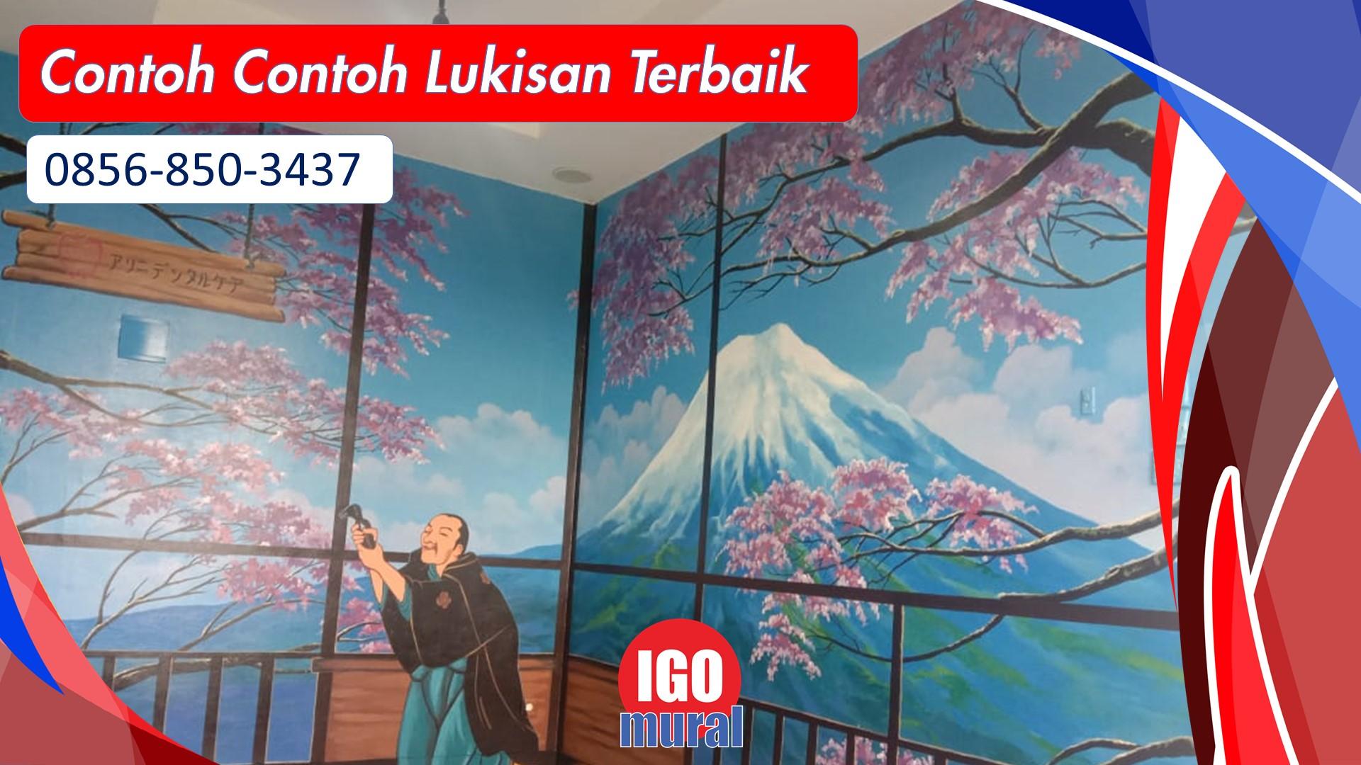 Mural Dinding Cafe Murah di Jakarta