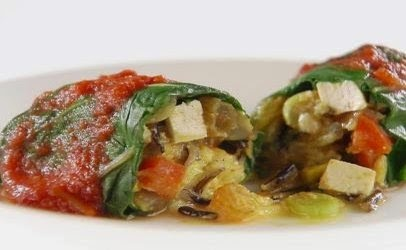 Moroccan-Inspired Swiss Chard Rolls Recipe
