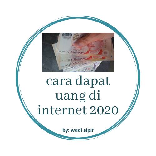 cara menghasilkan uang dari internet pemula