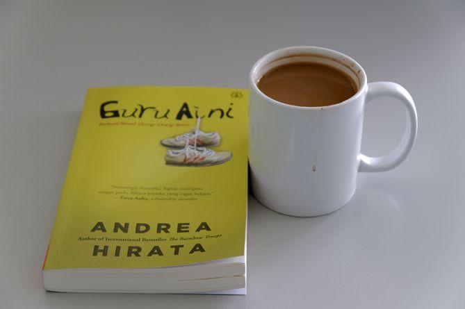 Novel Guru Aini Karya Andrea Hirata sudah di tangan