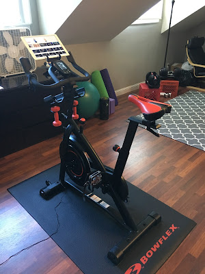 Home gym with Bowflex C6