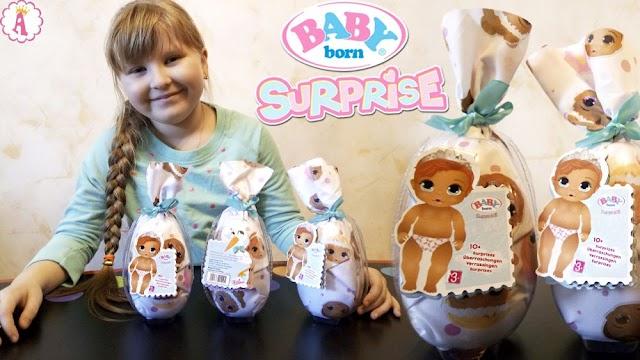 Распаковка куклы Baby Born Surprise W2: очаровательный сюрприз с пупсом, конвертом и подгузником